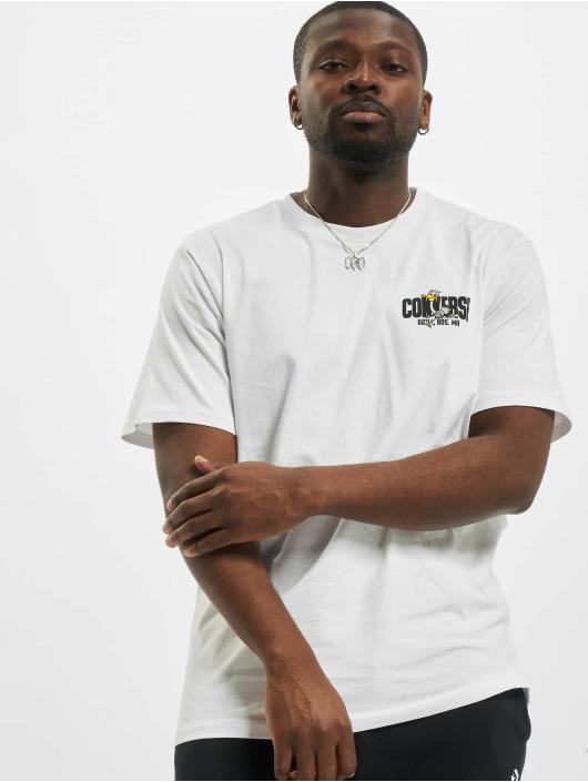 Converse T-shirts Keep Moving hvid