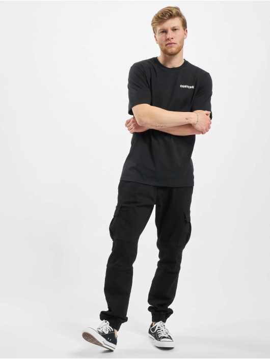 Converse T-Shirty Groovy czarny