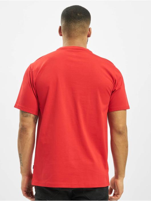 Converse T-Shirty Chevron czerwony