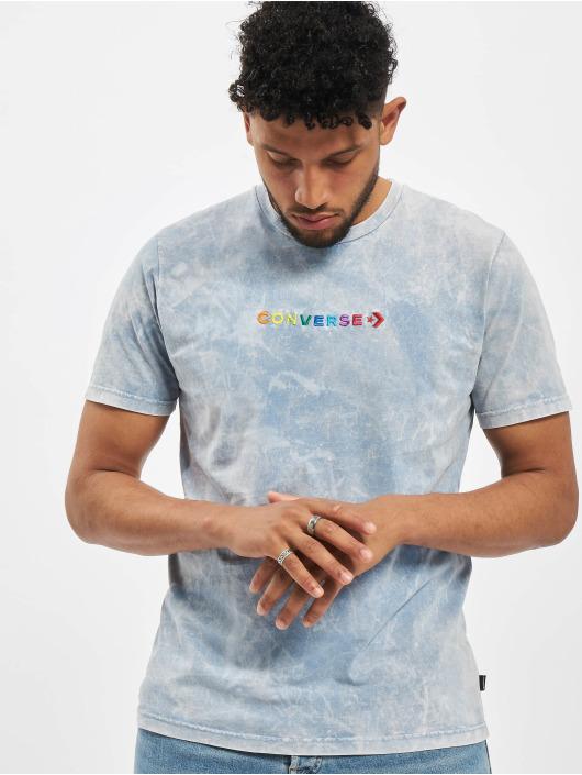 Converse T-skjorter SS Crew Treat blå