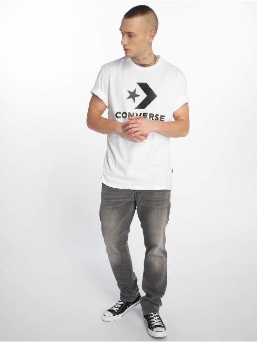 Converse T-skjorter Star Chevron hvit