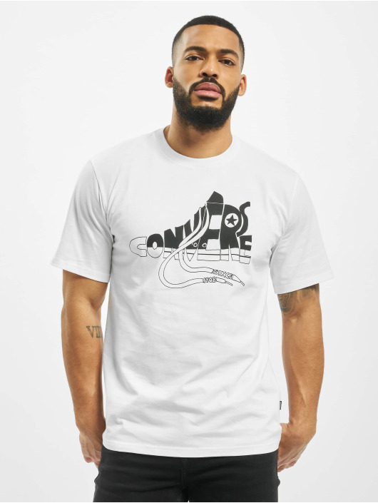 Converse T-skjorter Art hvit