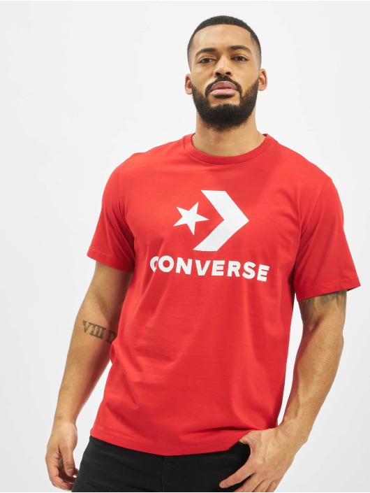 Converse T-skjorter Chevron red