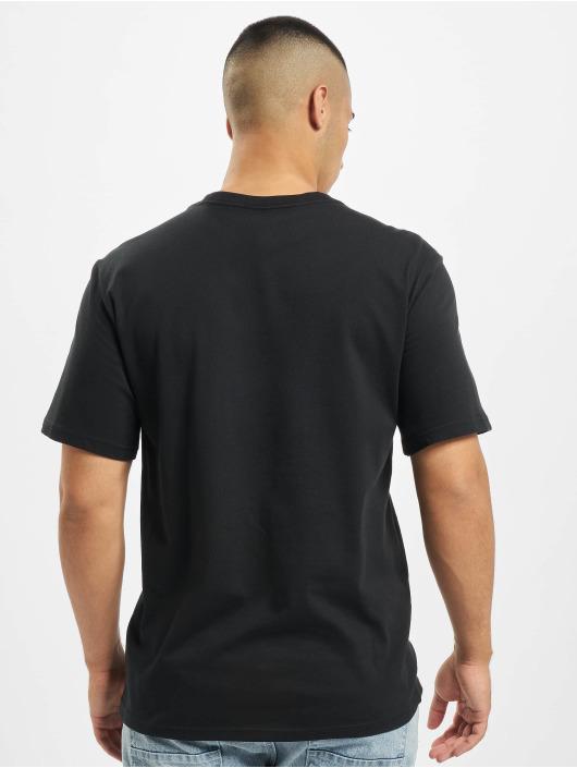 Converse T-skjorter Embroidered SC Left Chest svart