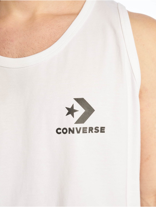 Converse Tank Tops Chevron bialy