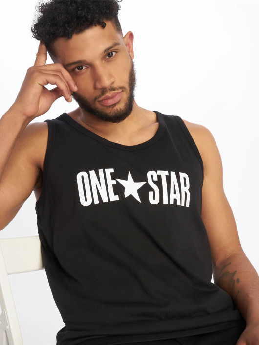Converse Tank Tops One Star negro