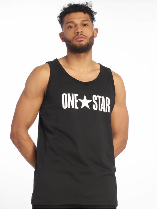 Converse Tanktop One Star zwart