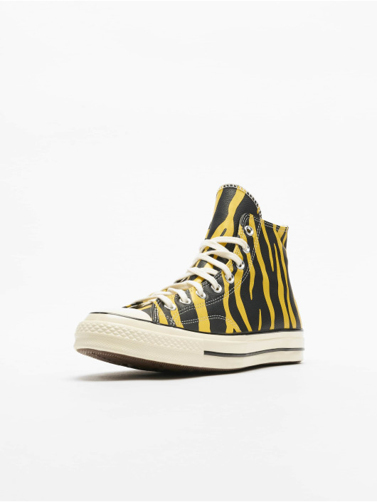 Converse Tennarit Chuck 70 Archive Print Leather keltainen