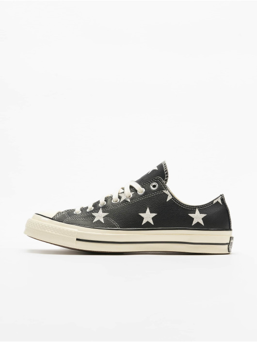 Converse Tennarit Chuck 70 Archive Print Leather musta