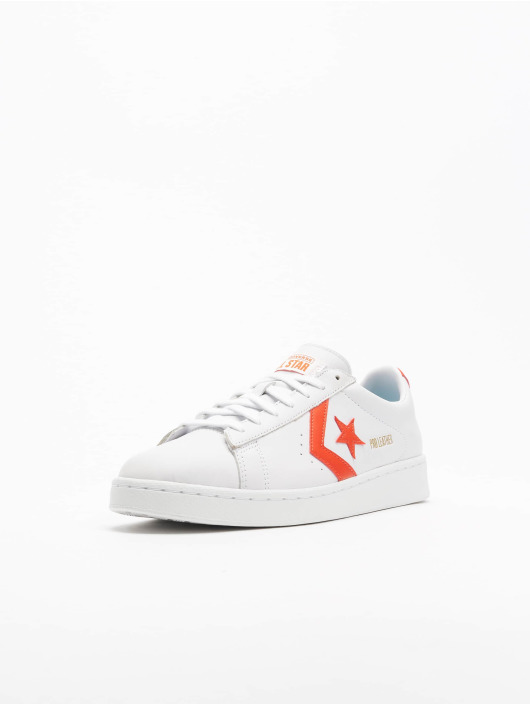 Converse Tennarit Pro Leather Ox valkoinen