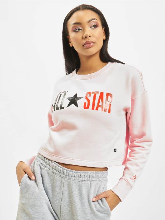 Converse Trøjer All Star Fleece Long rosa