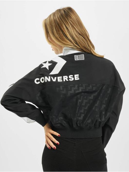 Converse Femme Vestes mi Saison légères Woven Warm Up