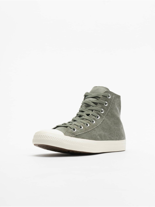Converse Zapatillas de deporte Chuck Tailor All Star Hi gris