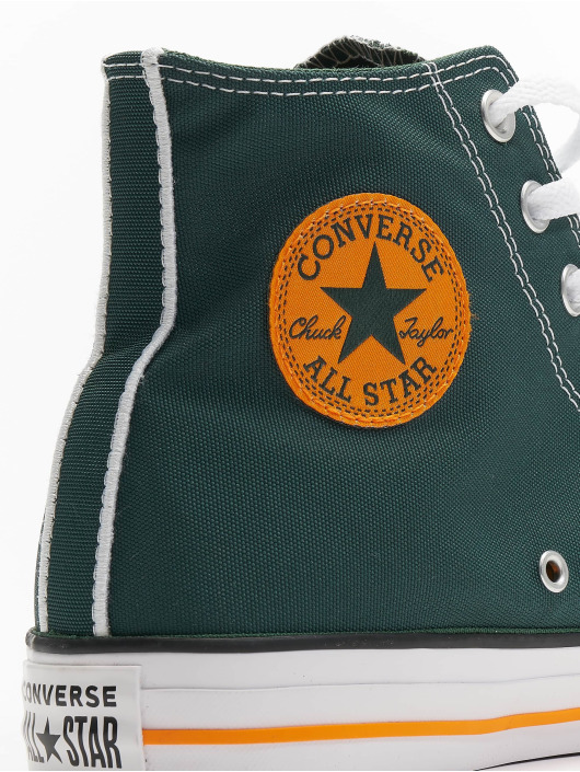 Converse Zapatillas de deporte Chuck Tailor All Star Hi verde