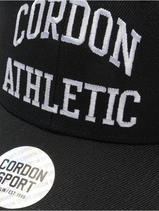 Cordon Snapback Caps Sport John czarny