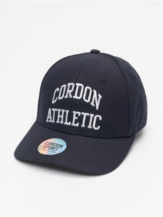 Cordon Snapback Caps Sport John niebieski