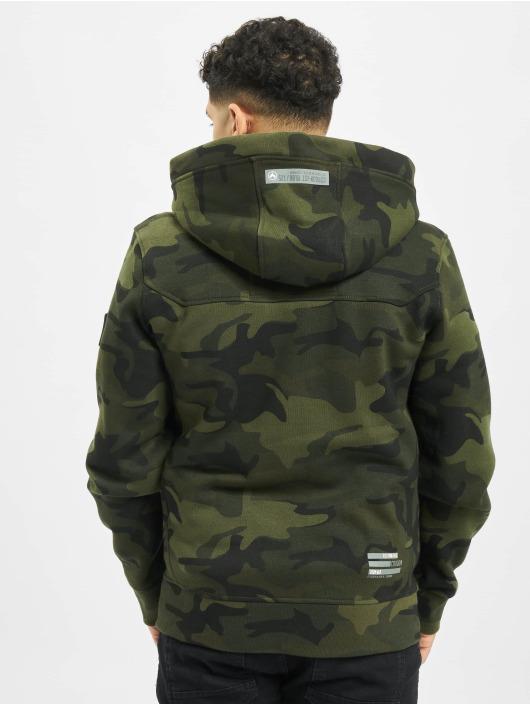 Cordon Zip Hoodie Tjorben camouflage
