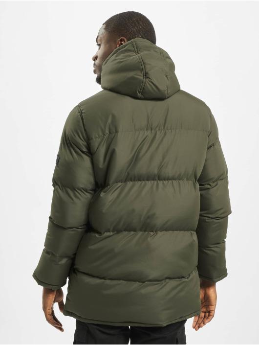 Criminal Damage Стеганая куртка Walker Puffa оливковый