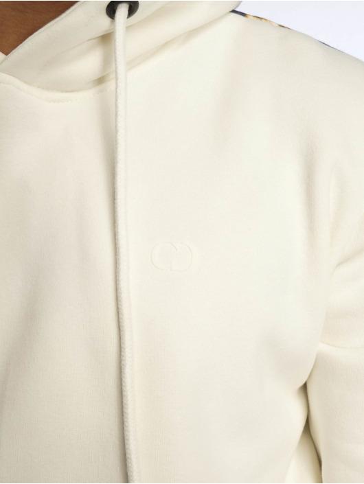 Criminal Damage Bluzy z kapturem Leo bialy
