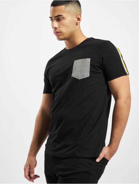 Criminal Damage Camiseta Franco Pocket negro