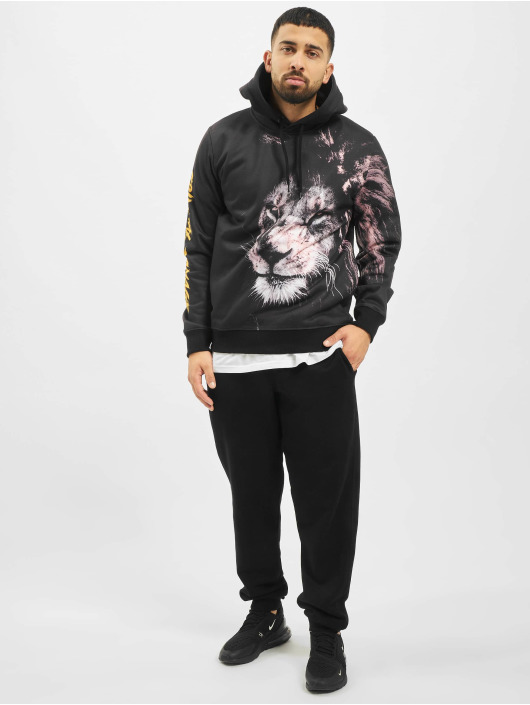 Criminal Damage Hoodie Lion black