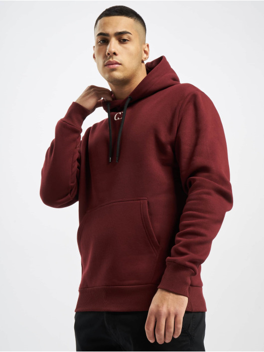 Criminal Damage Hoodie Essential red