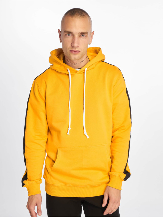 Criminal Damage Hoodie Carnaby yellow