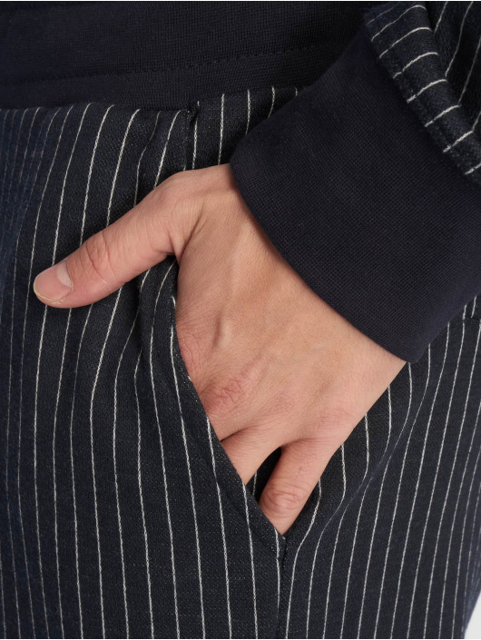 Criminal Damage Joggebukser Pinstripe blå