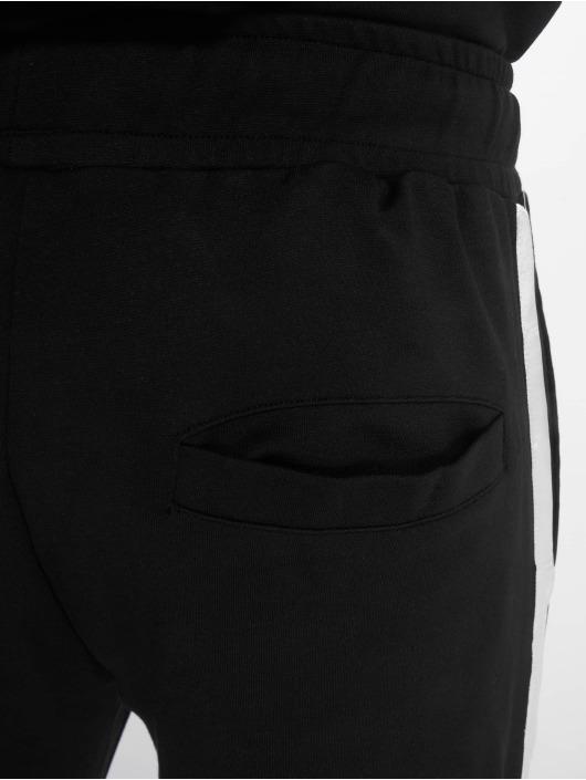 Criminal Damage Jogginghose Damage Tuxedo schwarz
