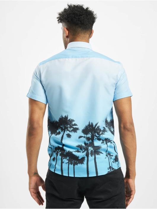 Criminal Damage Košele Palm Tree modrá