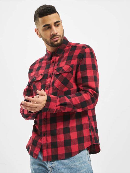 Criminal Damage Koszule Jack Print czerwony