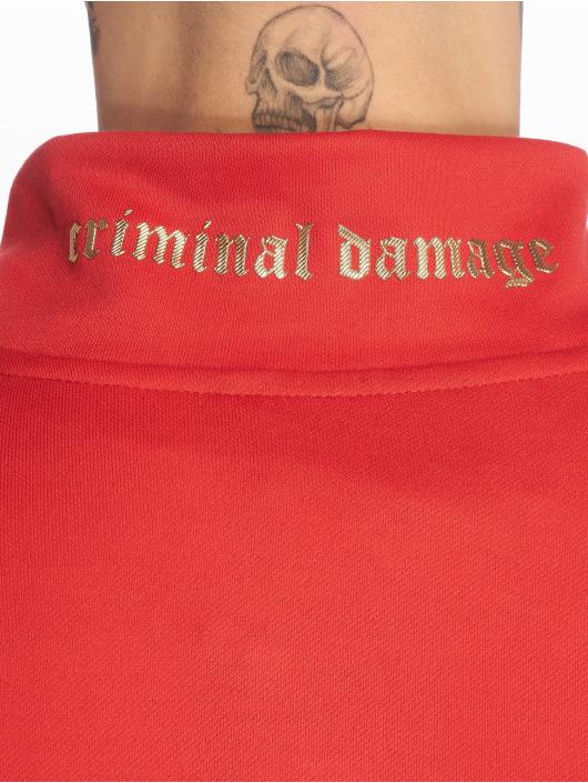 Criminal Damage Kurtki przejściowe Wise czerwony