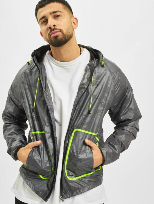 Criminal Damage Lightweight Jacket Reflective gray