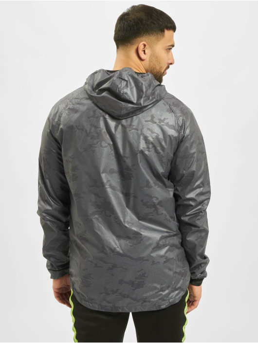 Criminal Damage Lightweight Jacket Reflective grey
