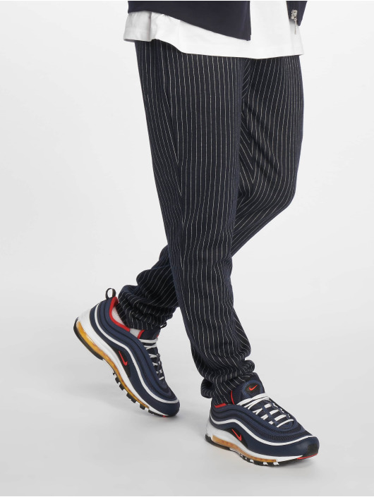 Criminal Damage Pantalón deportivo Pinstripe azul