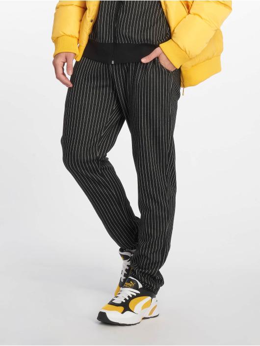 Criminal Damage Pantalón deportivo Pinstripe negro