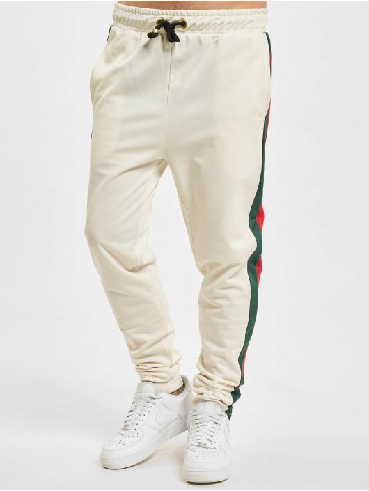 Criminal Damage Pantalone ginnico Cuccio bianco