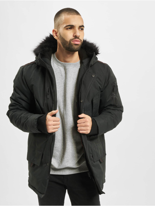 Criminal Damage Parka Sandor Parker black