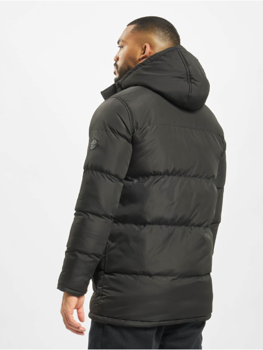 Criminal Damage Puffer Jacket Walker black