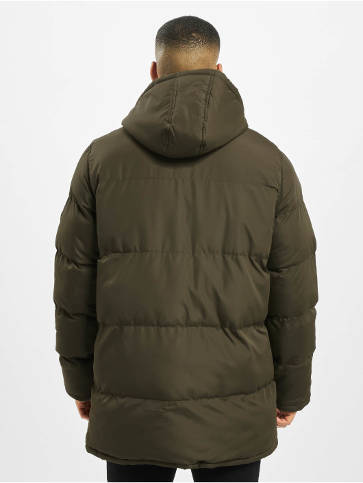 Criminal Damage Puffer Jacket Walker olive