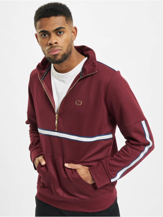 Criminal Damage Pullover Wise Pullover red