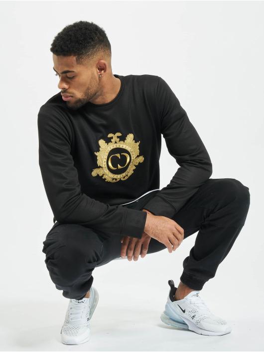 Criminal Damage Pullover Wise schwarz