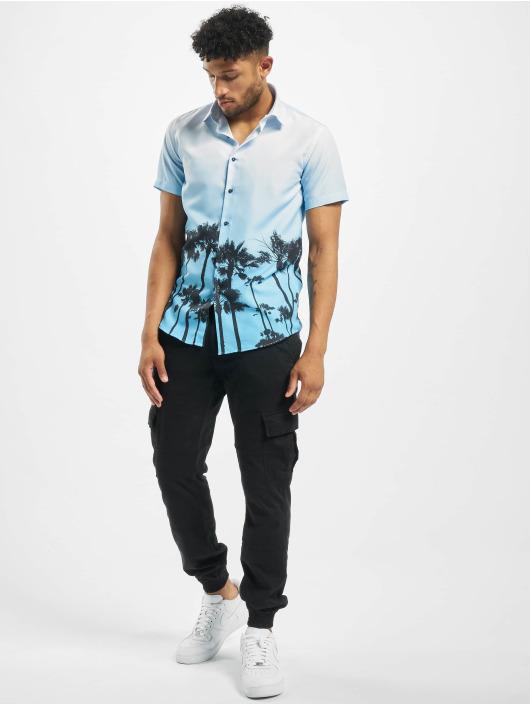 Criminal Damage Shirt Palm Tree blue