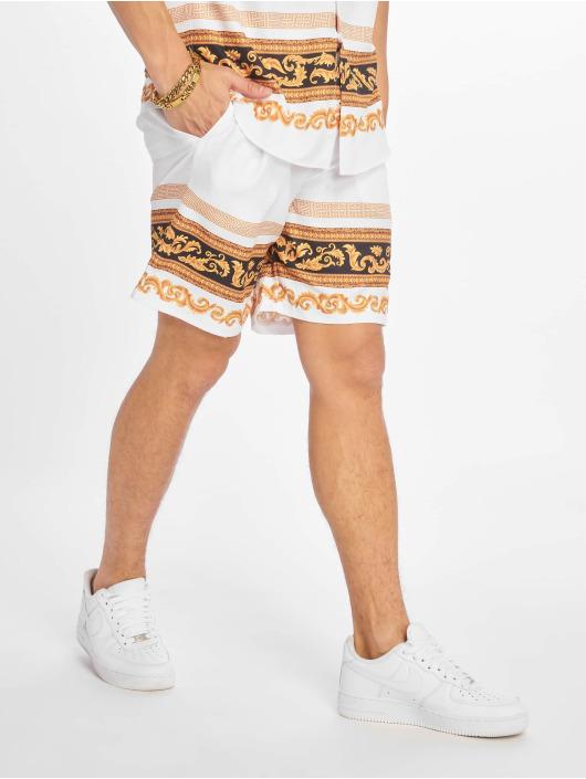 Criminal Damage Shorts Apollon hvit