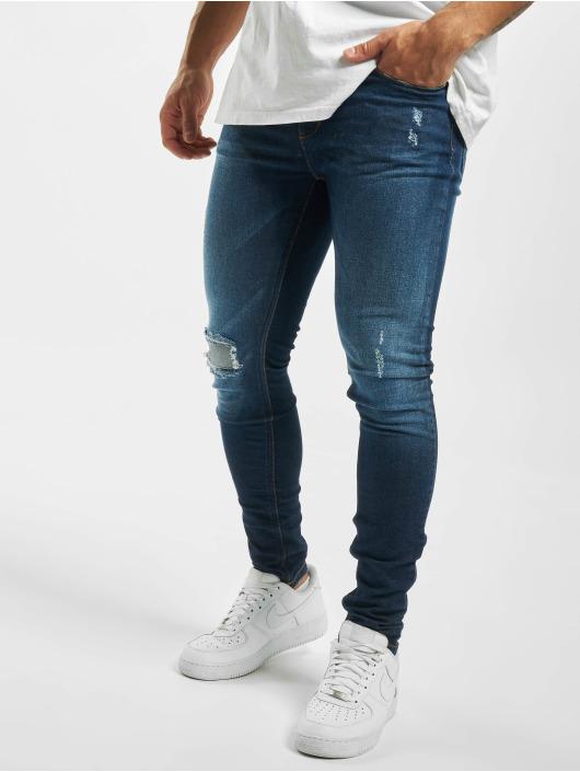 Criminal Damage Skinny Jeans Jonboy blau