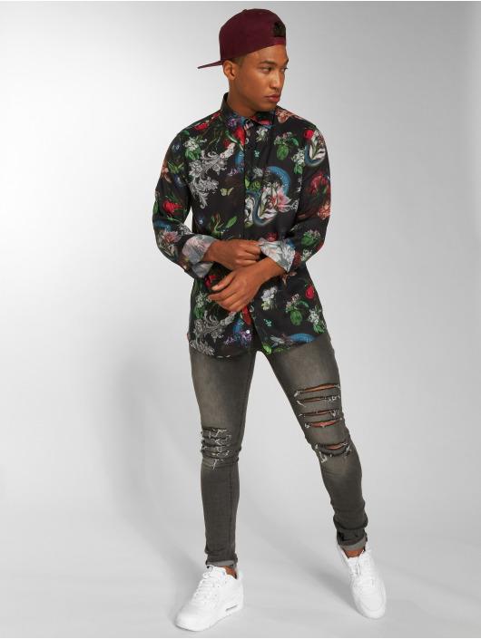 Criminal Damage Skjorter Dominic svart