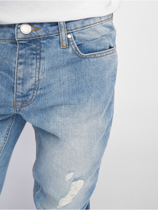 Criminal Damage Slim Fit Jeans Uzi blue