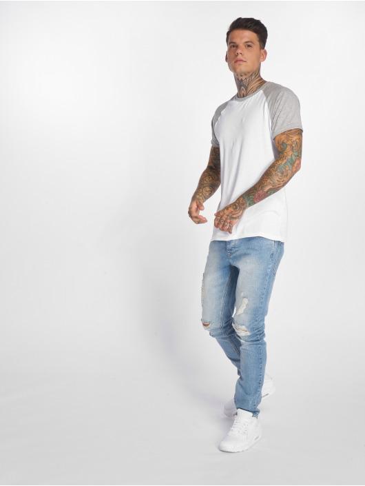 Criminal Damage Slim Fit Jeans Uzi modrá