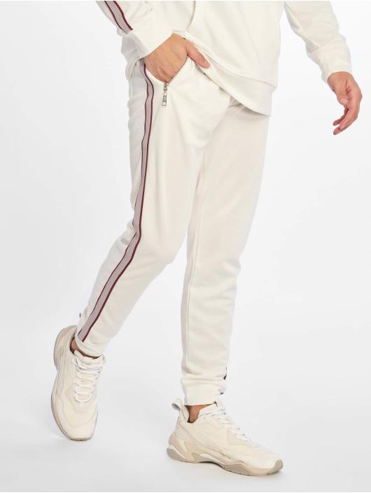 Criminal Damage Spodnie do joggingu Wise bialy