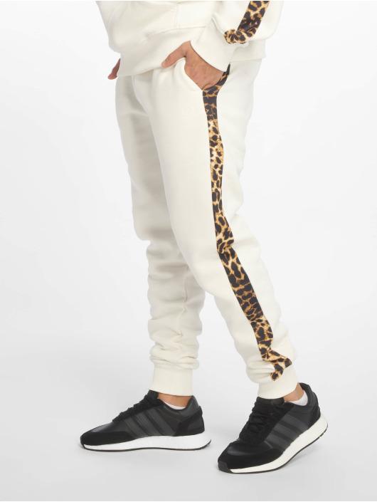 Criminal Damage Spodnie do joggingu Leo bialy